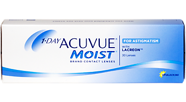 1-Day Acuvue Moist for Astigmatism – 30 Pack