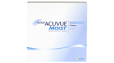 1-Day Acuvue Moist for Astigmatism – 90 Pack